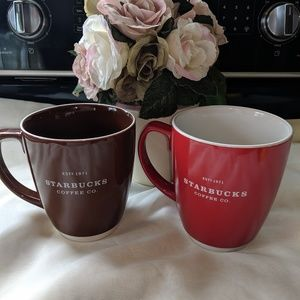 Starbucks 18 oz Coffee Cups Mugs
